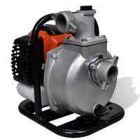 vidaXL Petrol Powered Water Pump 2 Stroke 1.25 kW 1.3 L