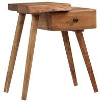 vidaXL Bedside Table Solid Acacia Wood 45x32x55 cm