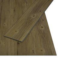 vidaXL Click Floor 3.51 m² 4 mm PVC Natural Brown