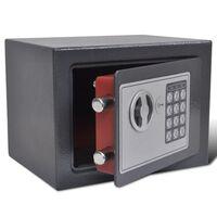 vidaXL Electronic Digital Safe 23 x 17 x 17 cm