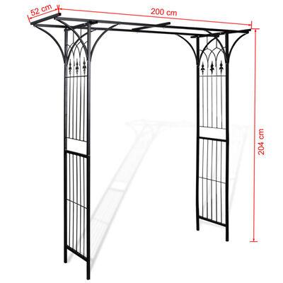 vidaXL Garden Arch 200x52x204 cm