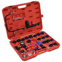 "vidaXL 28 Piece Radiator Pressure Tester Kit"""