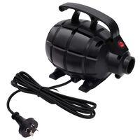 vidaXL Electric Air Pump Black