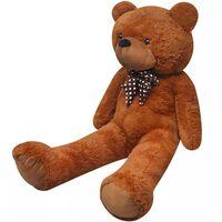 XXL Soft Plush Teddy Bear Toy Brown 135 cm