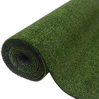 vidaXL Artificial Grass 1x10 m/7-9 mm Green