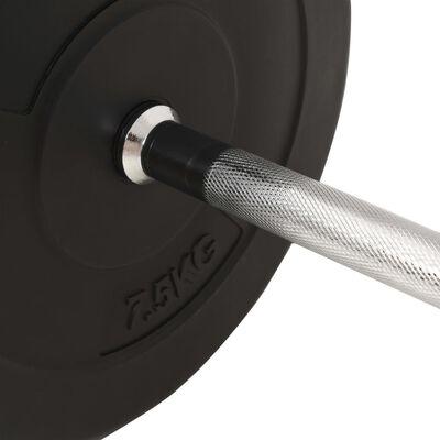 vidaXL Barbell Set 30 kg