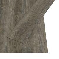 vidaXL Self-adhesive Flooring Planks 4.46 m² 3 mm PVC Grey and Brown