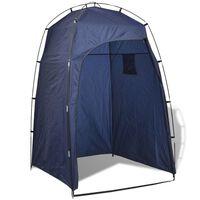 vidaXL Shower/WC/Changing Tent Blue