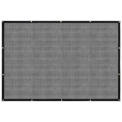 vidaXL Container Net HDPE 3.5x6 m Black