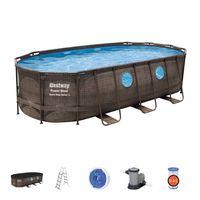 Bestway Power Steel Swimming Pool Set 549x274x122cm