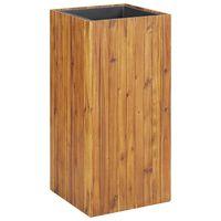 vidaXL Garden Raised Bed 43.5x43.5x90 cm Solid Acacia Wood