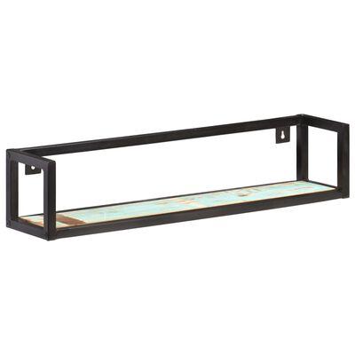 vidaXL Wall Shelves 2 pcs 80 cm Solid Reclaimed Wood,
