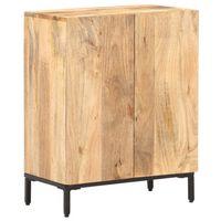 vidaXL Sideboard 60x35x77 cm Solid Mango Wood