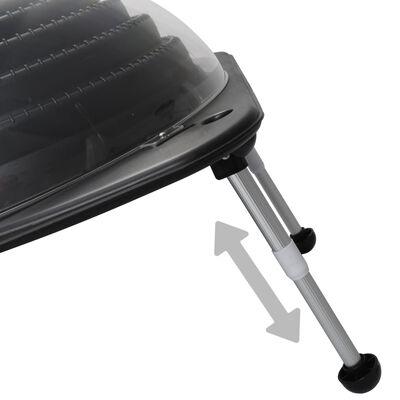 vidaXL Solar Pool Heater 75x75x36 cm HDPE Aluminium