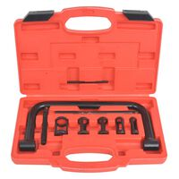 vidaXL Valve Spring Compressor 10-Piece Tool Set