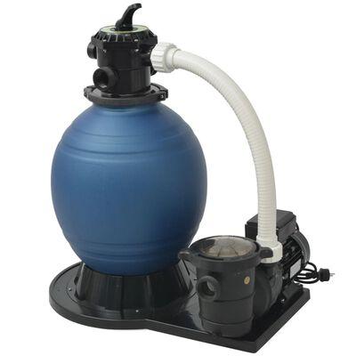 vidaXL Sand Filter Pump 1000 W 16800 L/h XL