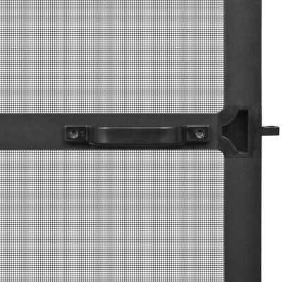 vidaXL Hinged Insect Screen for Doors Anthracite 100x215 cm