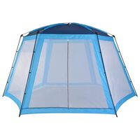 vidaXL Pool Tent Fabric 500x433x250 cm Blue