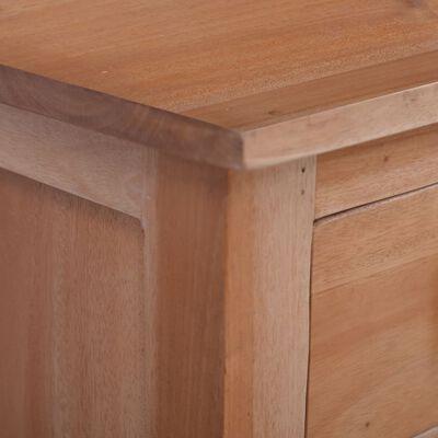 vidaXL TV Cabinet 100x30x45 cm Solid Mahogany Wood