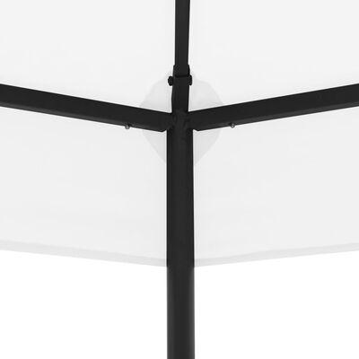 vidaXL Garden Gazebo 323x275x265 cm White 180 g/m²