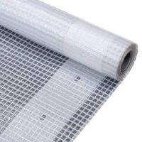 vidaXL Leno Tarpaulin 260 g/m² 2x6 m White