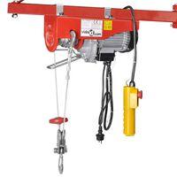 vidaXL Electric Hoist 500 W 100/200 kg