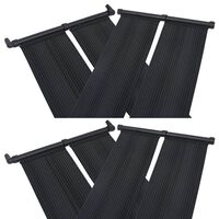 vidaXL Solar Pool Heater Panel 4 pcs 80x310 cm