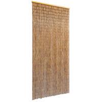 vidaXL Door Curtain Bamboo 90x200 cm