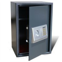 Electronic Digital Safe with Shelf 35 x 31 x 50 cm