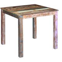 vidaXL Dining Table Solid Reclaimed Wood 80x82x76 cm