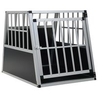 vidaXL Dog Cage with Single Door 65x91x69.5 cm