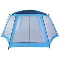 vidaXL Pool Tent Fabric 660x580x250 cm Blue