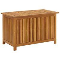 vidaXL Garden Storage Box 90x50x58 cm Solid Acacia Wood