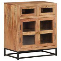 vidaXL Sideboard 60x35x70 cm Solid Acacia Wood