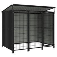 vidaXL Outdoor Dog Kennel 193x133x163 cm