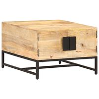 vidaXL Coffee Table 67x67x45 cm Solid Mango Wood