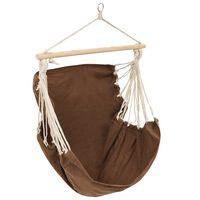 Swing Chair/Hammock Brown Large Fabric