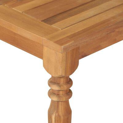 vidaXL Garden Table 150x90x75 cm Solid Acacia Wood