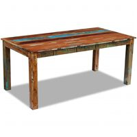 vidaXL Dining Table Solid Reclaimed Wood 180x90x76 cm