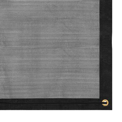 vidaXL Trailer Net HDPE 2x3 m Black
