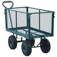 vidaXL Garden Hand Trolley Green 350 kg