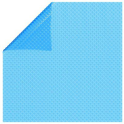 vidaXL Rectangular Pool Cover 549 x 274 cm PE Blue