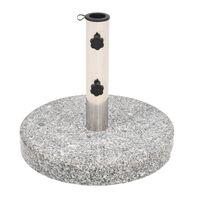 vidaXL Parasol Base Granite Round 20 kg