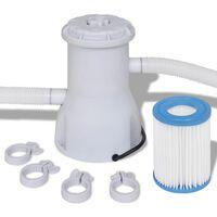 vidaXL Swimming Pool Filter Pump 530 gal / h