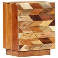 vidaXL Bedside Cabinet 40x30x50 cm Solid Reclaimed Wood
