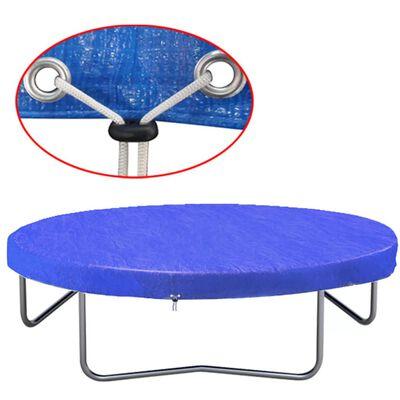vidaXL Trampoline Cover PE 360-367 cm 90 g/m?