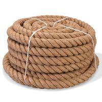 vidaXL Rope 100% Jute 40 mm 30 m