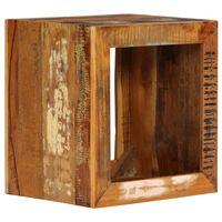 vidaXL Stool 40x30x40 cm Solid Reclaimed Wood