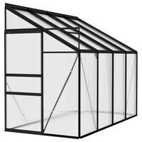 vidaXL Greenhouse Anthracite Aluminium 5.02 m³