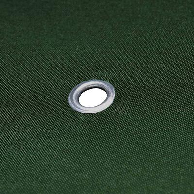 vidaXL Gazebo Top Cover 310 g/m² 3x3 m Green